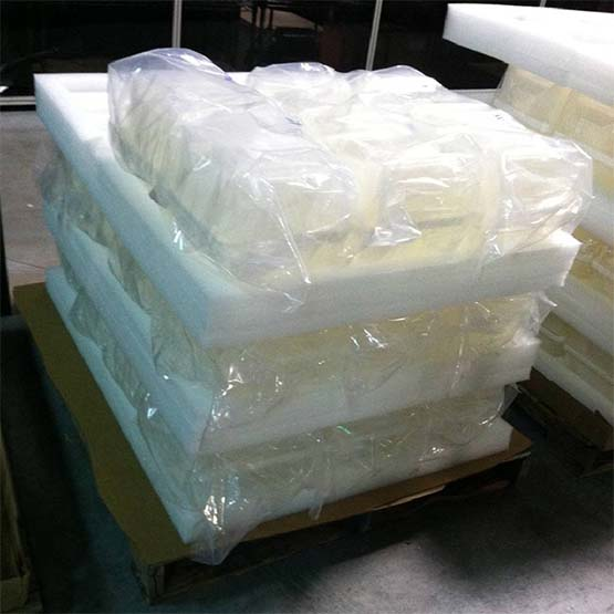Palletized Glass Wafer Packaging